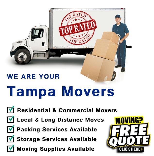 We are YOUR Tampa Movers